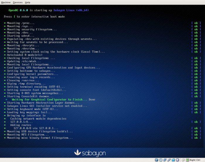 Sabayon Linux 5.3 - GNOME