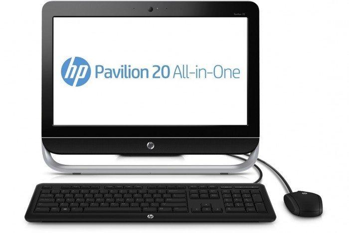 HP Pavilion 20 z Ubuntu - widok z przodu