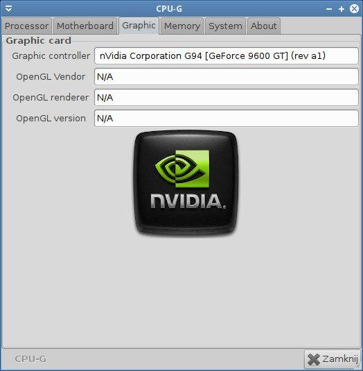 Intel Core i7-3820 - testy pod Ubuntu 11.10 - karta graficzna