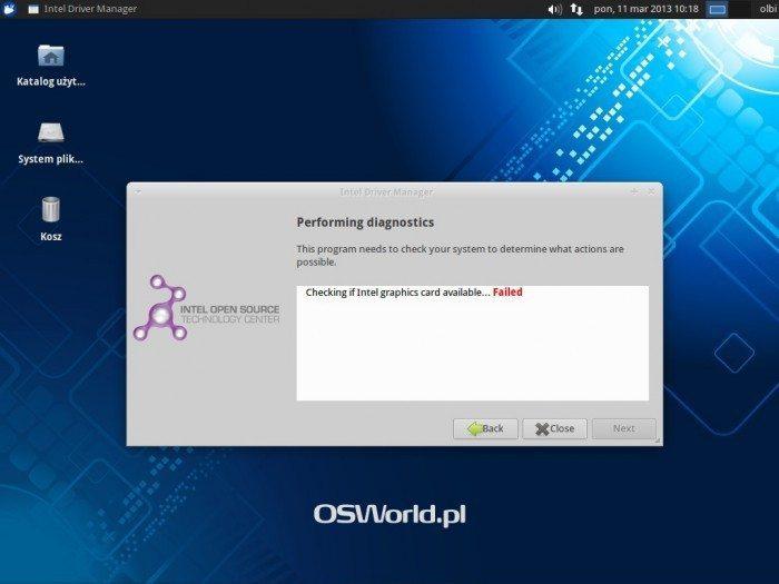 Intel Linux Graphics Installer 1.0 - instalator