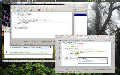 KDE Telepathy 0.7.0 - Telepathy Tubes