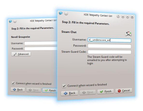 KDE Telepathy 0.7.0 - obsługa nowych backendów