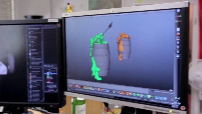 KDE wykorzystane w produkcji filmu Hobbit Pustkowie Smauga - 2