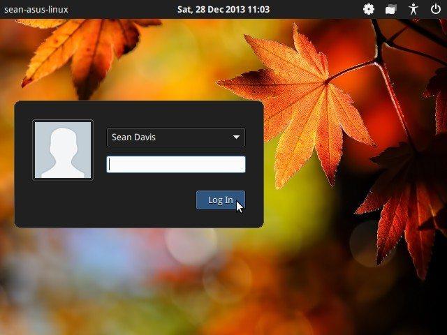 LightDM GTK+ Greeter 1.7 - nowa pozycja