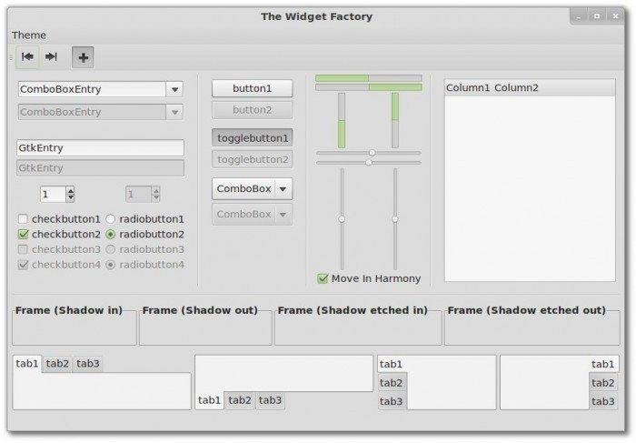 Linux Mint 13 - tematy graficzne GTK3