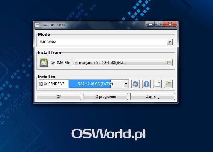LiveUSB Install - instalacja