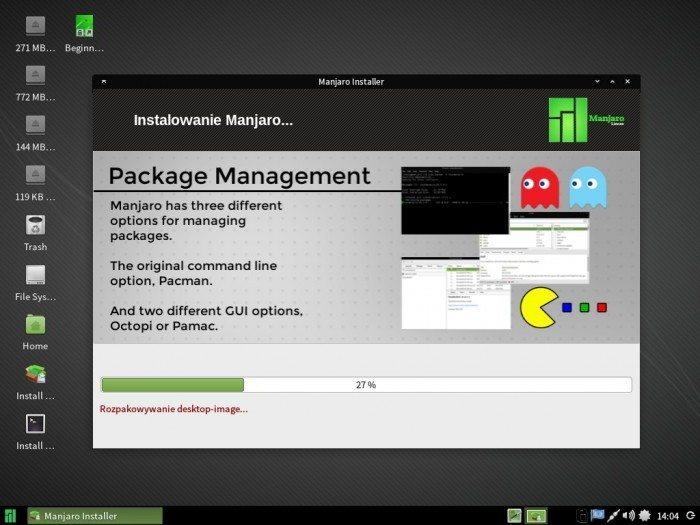 Manjaro 0.8.10 - Thus - instalacja 3