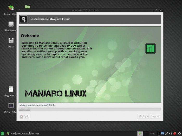 Manjaro 0.8.7 - Live Installer 5