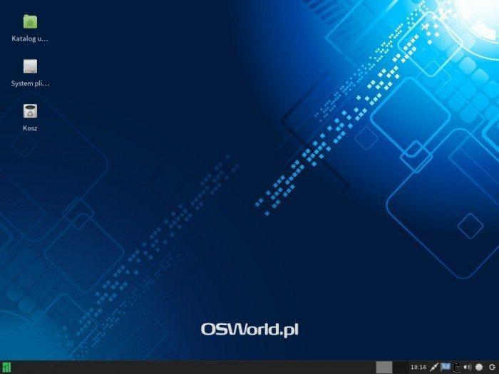 Manjaro 0.8.7 - pulpit Xfce