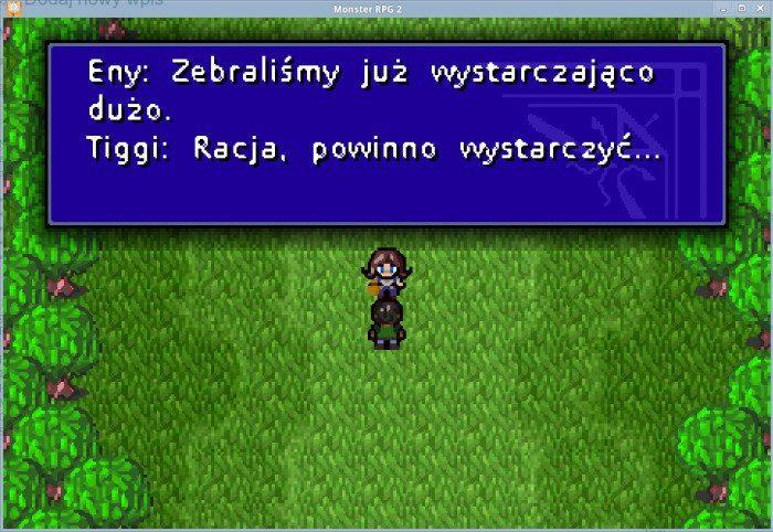 Monster RPG 2 2.0 - początek