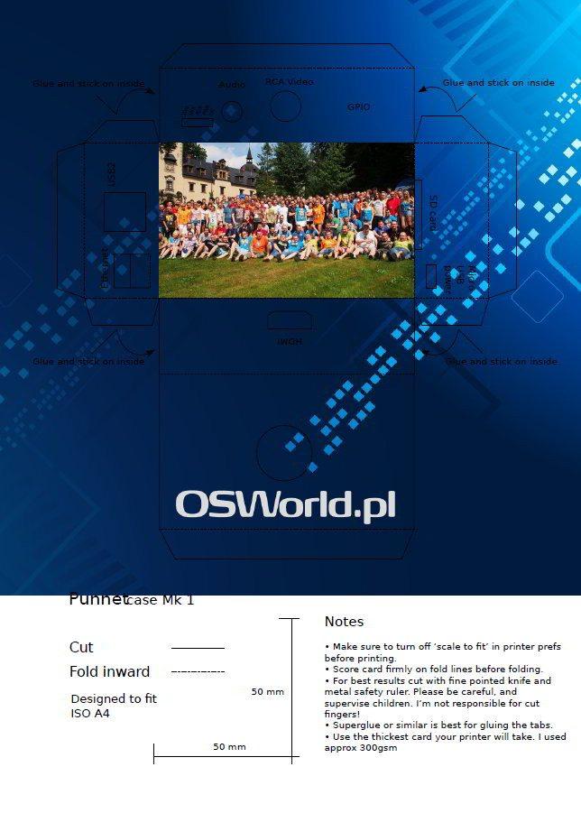 OSWorld.pl na wakacjach II - Pudełko na Raspberry Pi