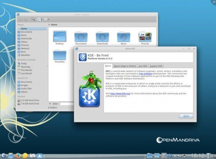 OpenMandriva Lx 2013.0 - KDE SC