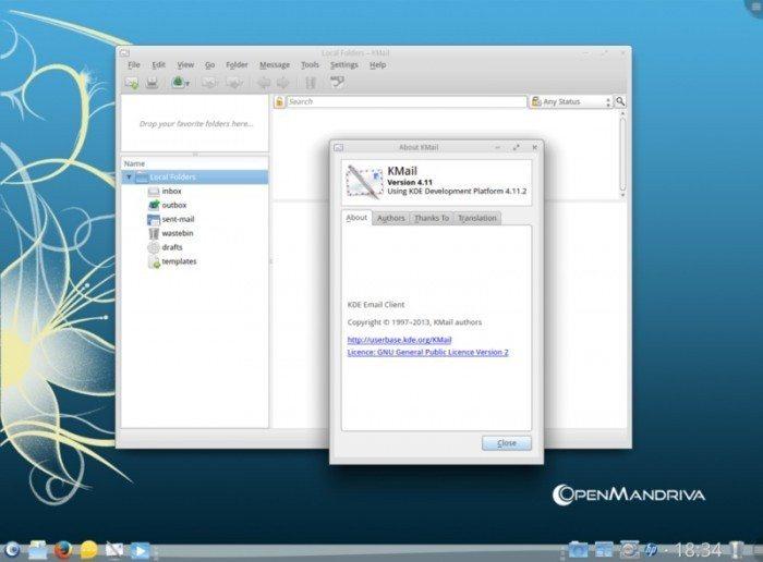 OpenMandriva Lx 2013.0 - KMail