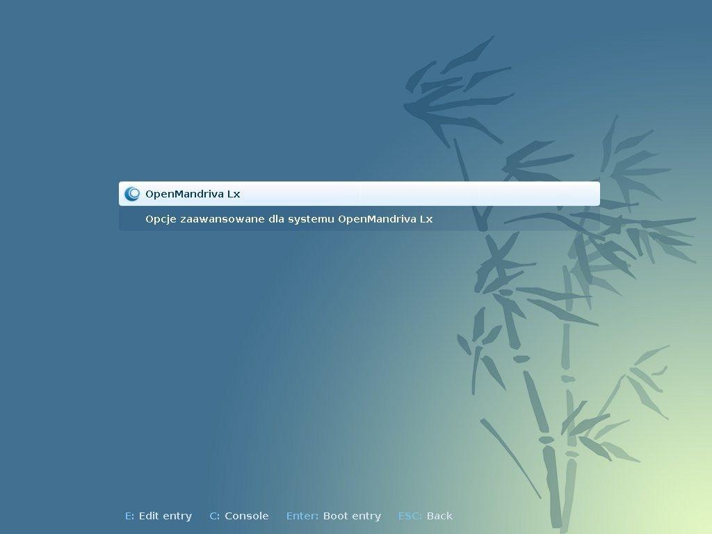 OpenMandriva Lx 2014.1 - uruchamianie
