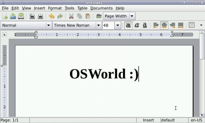 OpenPandora - Abiword