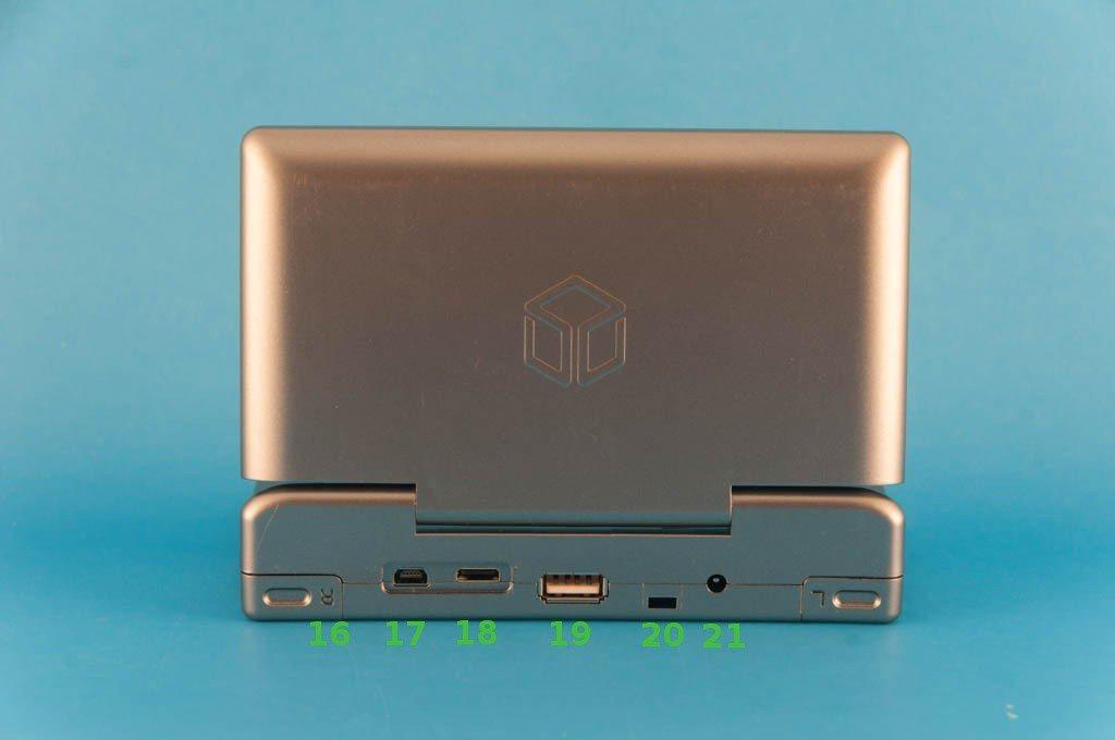 OpenPandora - miejsce pod baterią