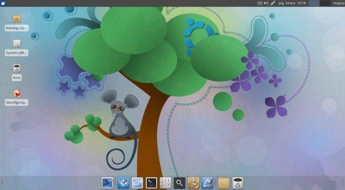 Przyjazna Mysz Xfce 12.04PL
