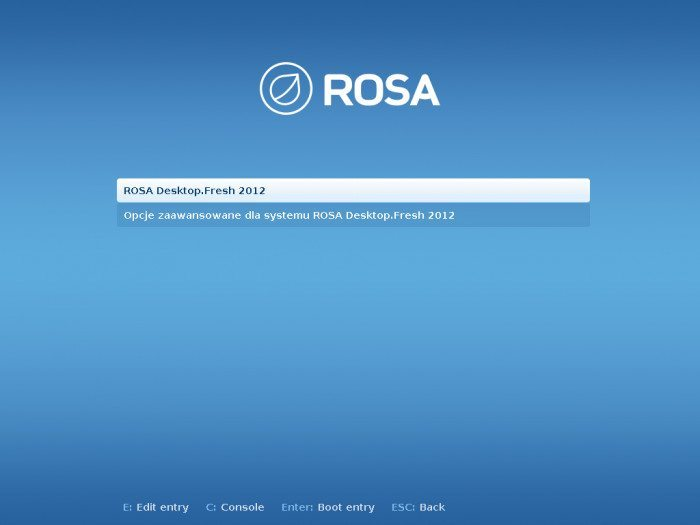 ROSA Desktop.Fresh 2012 - grub2