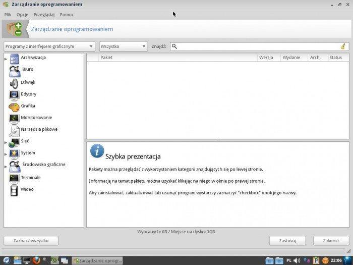 ROSA LXDE 2012 LTS - Zarządzanie oprogramowaniem