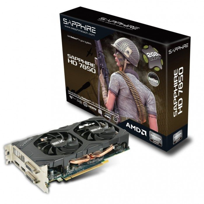 Radeon HD 7850 2GB - Radeon HD 7850 OC 2GB - opakowanie