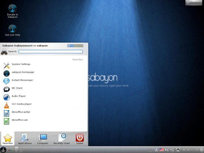 Sabayon Linux 7 KDE
