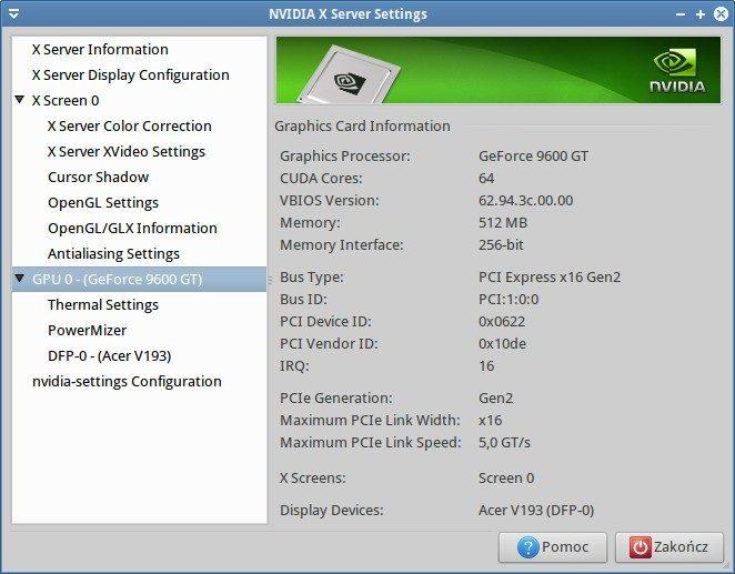 Sapphire Pure White Fusion E350 - GeForce 9600GT