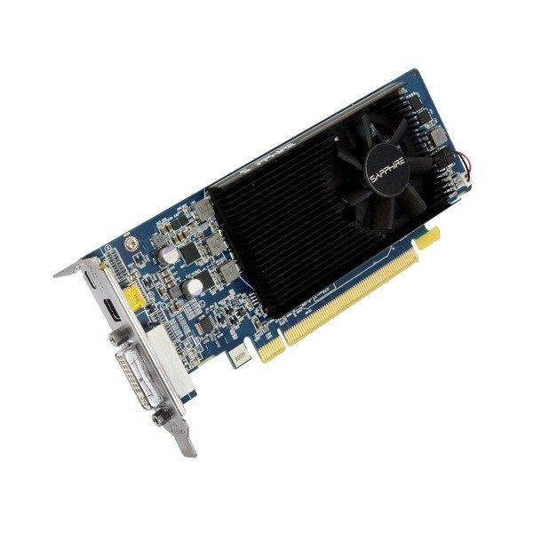 Sapphire Radeon HD 7750 Low Profile - złącza i chłodzenie