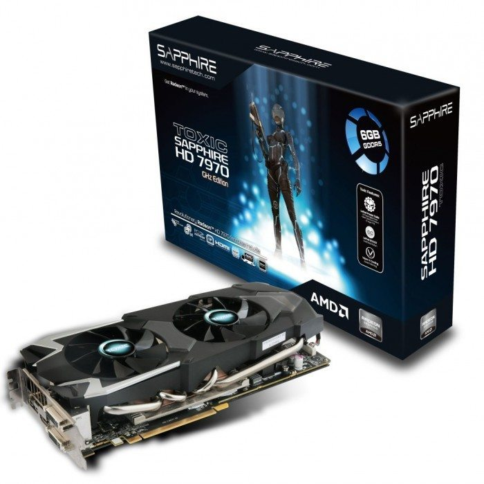 Sapphire Radeon HD 7970 6 GB TOXIC Edition - opakowanie