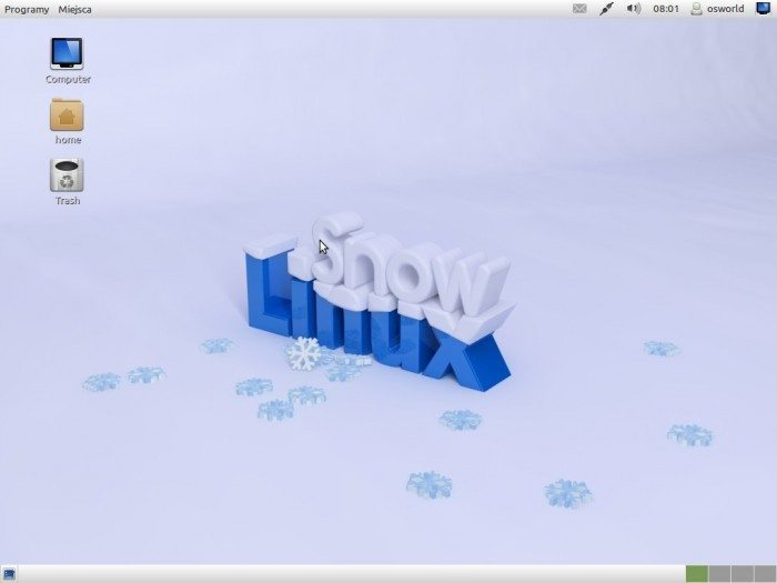 Snowlinux 2 Cinnamon - pulpit