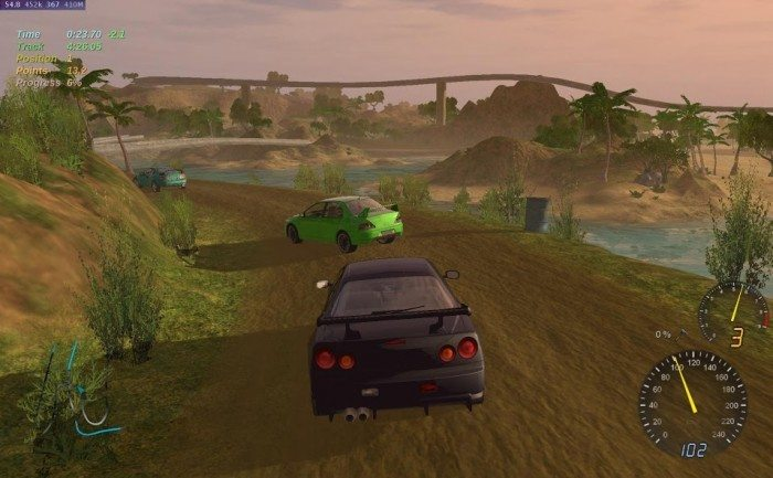 Stunt Rally 2.2 - nowy interfejs