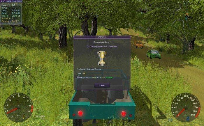 Stunt Rally 2.2 - podsumowanie wyzwania