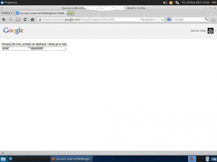 SyncDrive - kod aktywacyjny