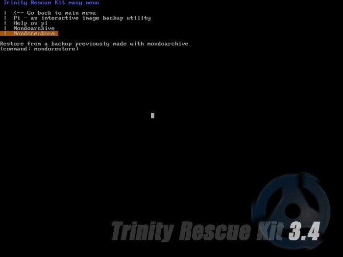 TRK - Narzędzia kopii zapasowej i przywracania