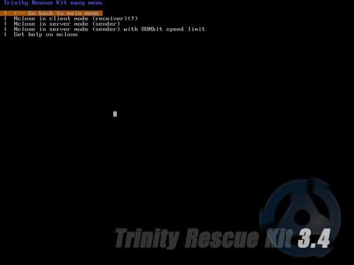 TRK - Mclone - klonowanie komputera poprzez sieć