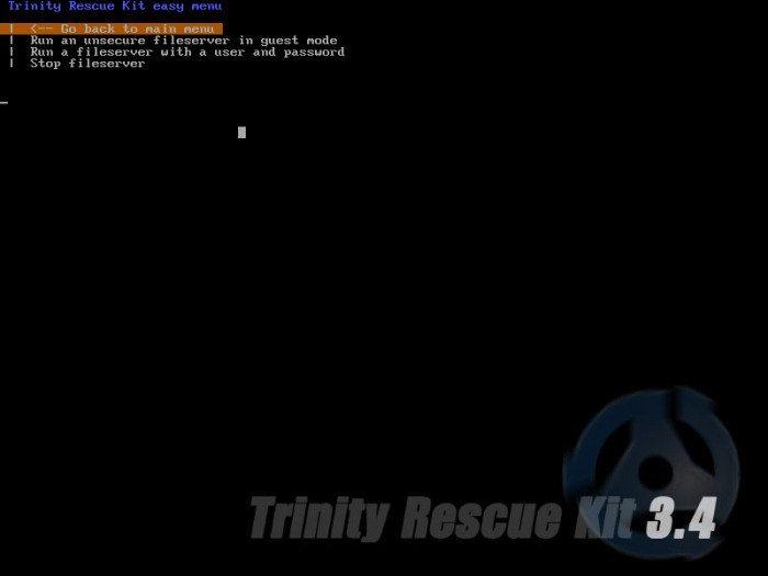 TRK - uruchamianie serwera plików na Windows