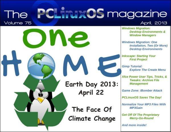 The PCLinuxOS Magazine - kwiecień 2013