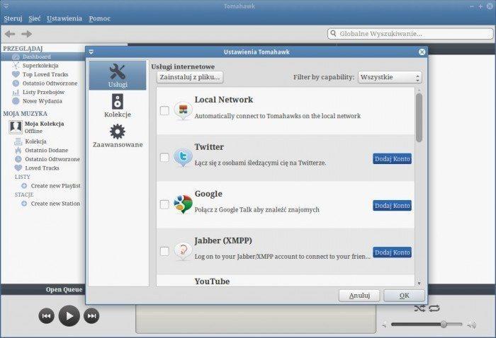 Tomahawk 0.5 - nowe usługi internetowe