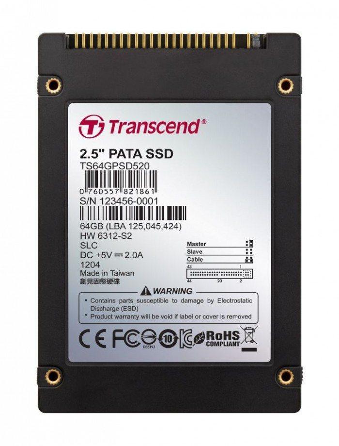 Transcend PSD520 - 64GSSD25