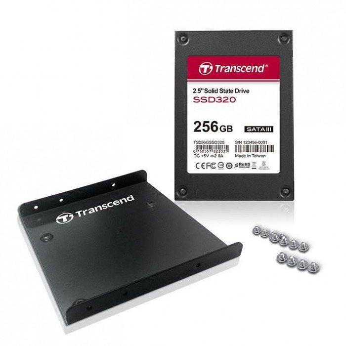 Transcend SSD320 - pełen zestaw