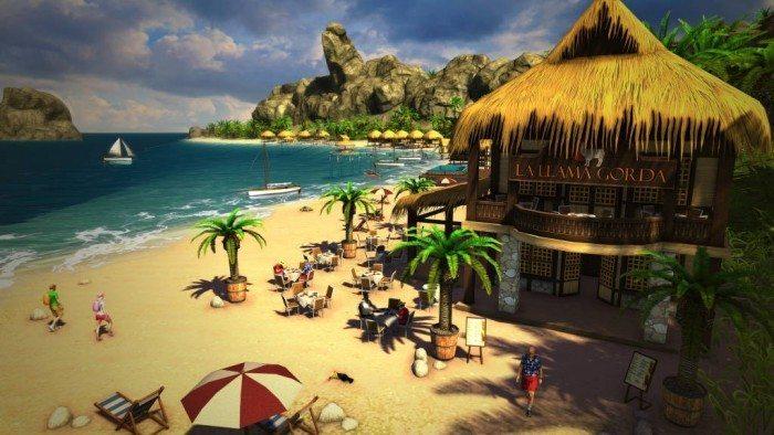 Tropico 5 - plaża dla turystów