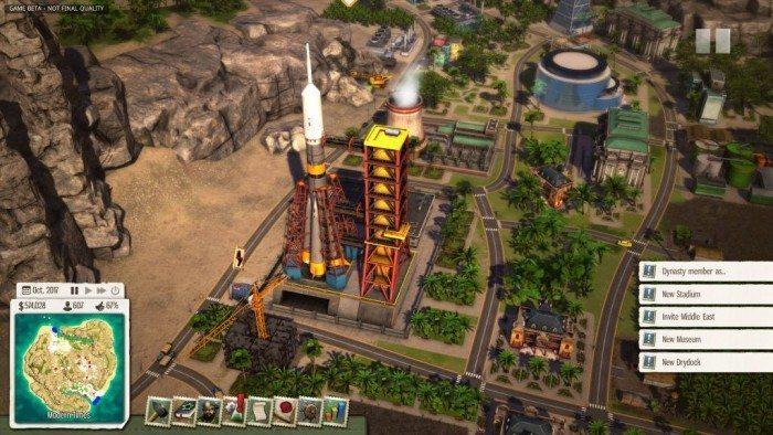 Tropico 5 - widok z góry