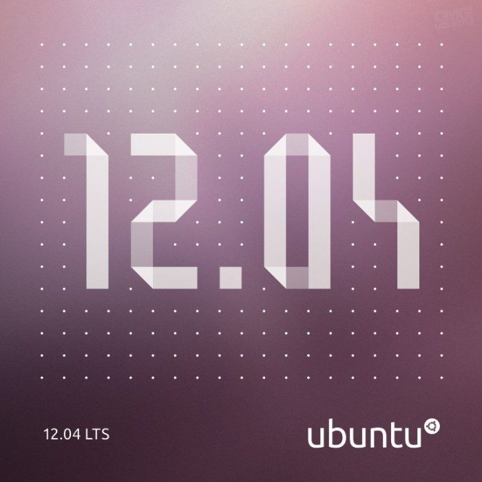 Ubuntu 12.04 LTS Desktop - okładka CD