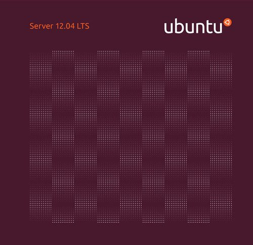 Ubuntu 12.04 LTS Server - okładka CD