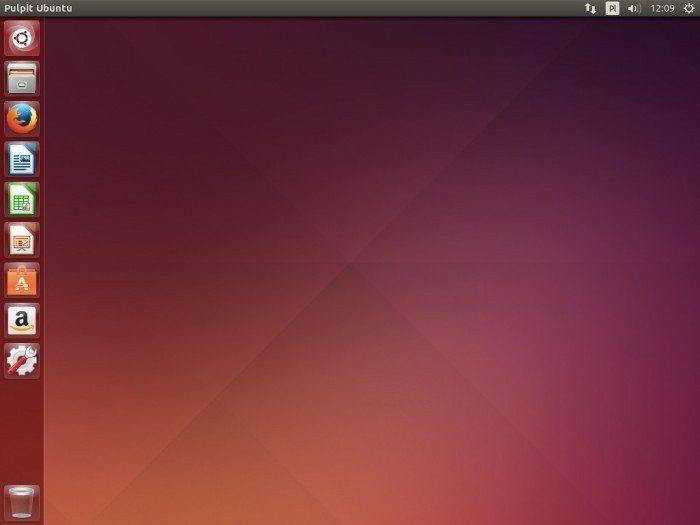 Ubuntu 14.04 LTS - pulpit