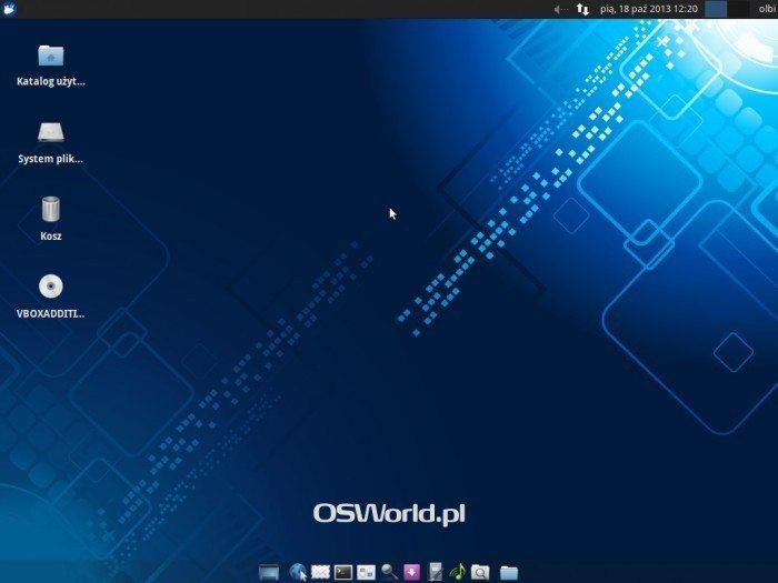 Xubuntu 13.10 - pulpit