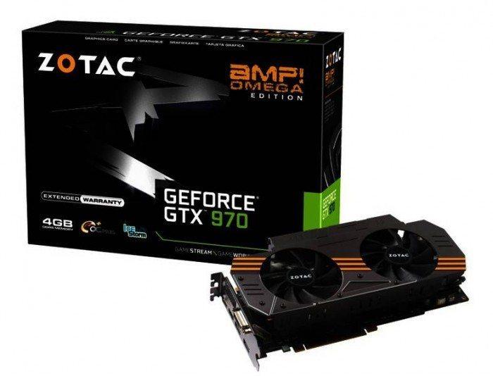 ZOTAC GeForce GTX 970 AMP! Omega Edition - wygląd