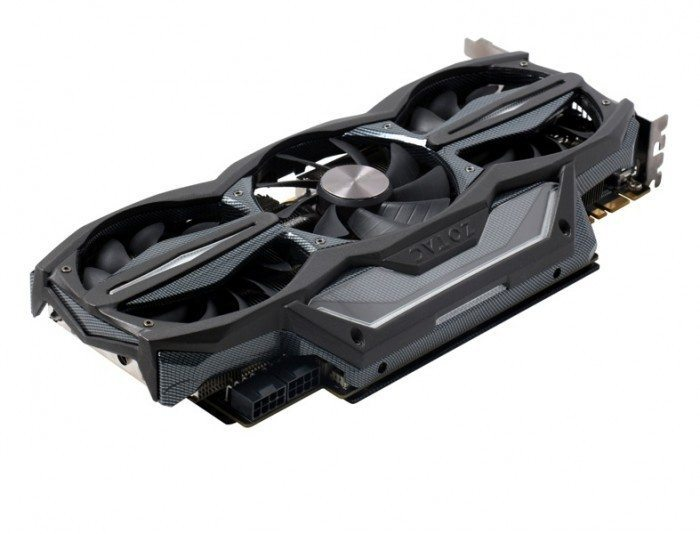 ZOTAC GeForce GTX 980 AMP! Extreme Edition - zasilanie