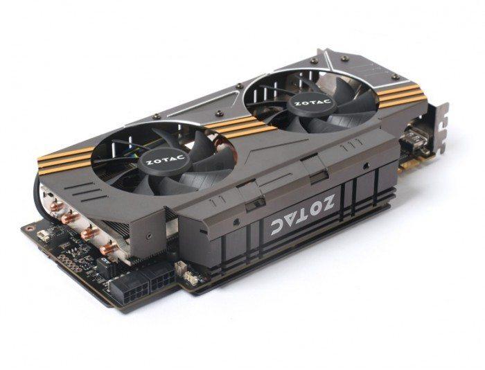 ZOTAC GeForce GTX 980 AMP! Omega Edition - zasilanie