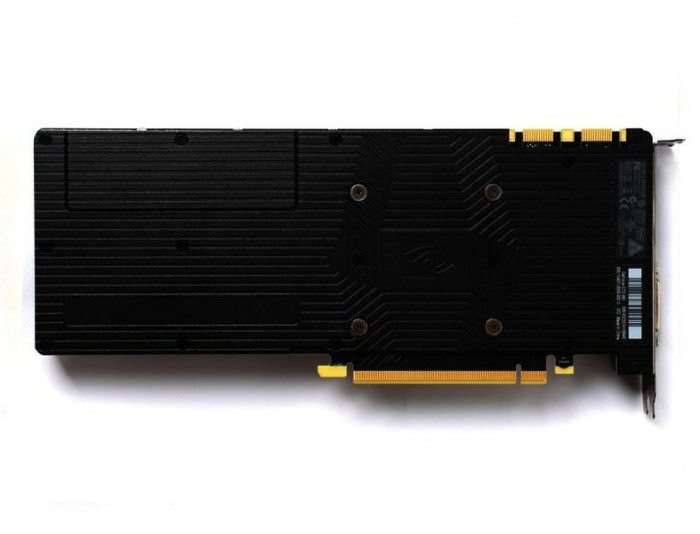 ZOTAC GeForce GTX 980 - tył