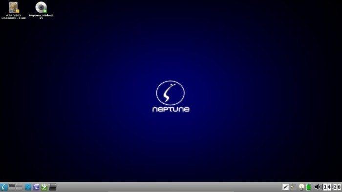 ZevenOS 2.5 Neptune - środowisko graficzne E17